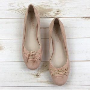 <Seychelles> Leather Flats Ballet Blush Pink Cute